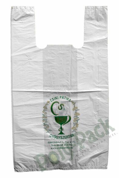 Kukoricakeményítő alapú PLA táskák egyedi grafikával